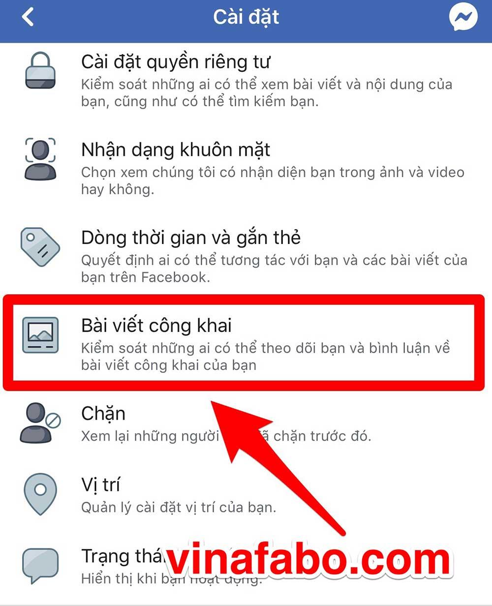 Cách bật theo dõi Facebook trên điện thoại