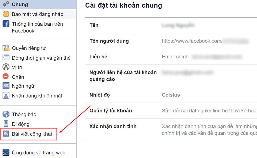 Cách bật theo dõi Facebook trên máy tính